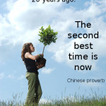 The best time to plant a tree...