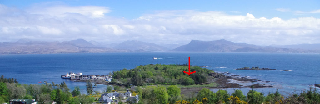 The building plot for sale at Rubha Phoil