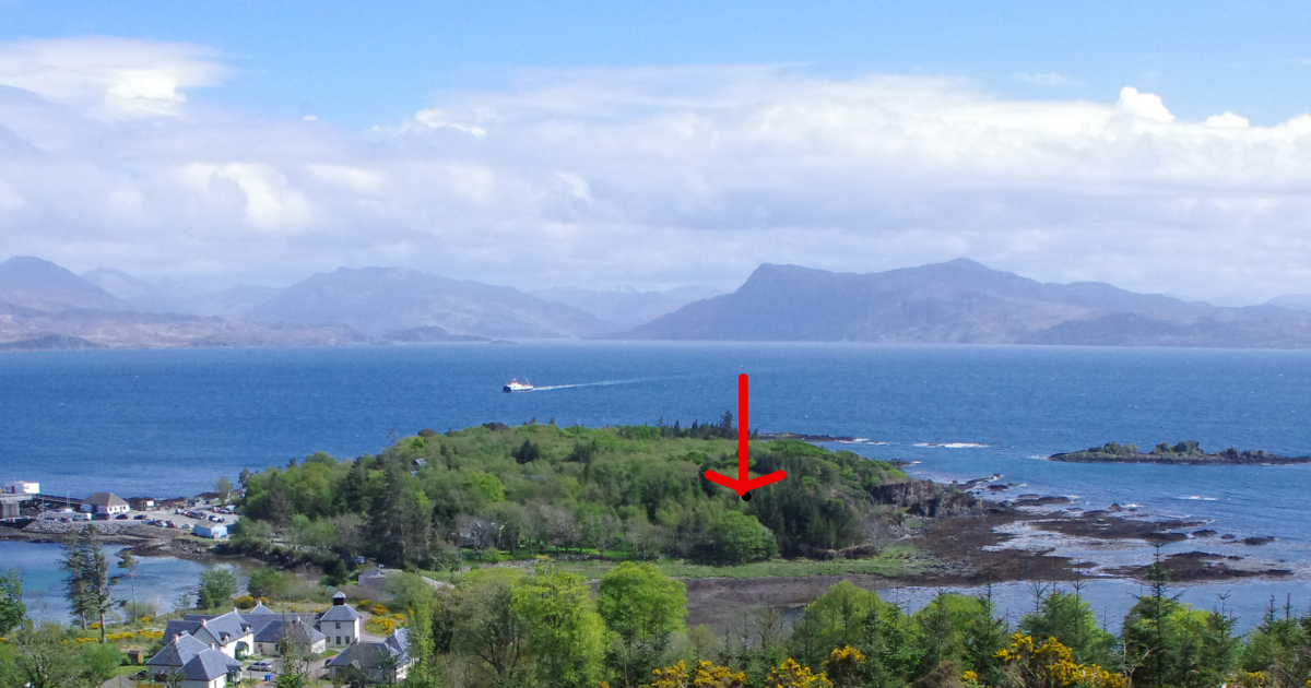 Plot for sale at Rubha Phoil